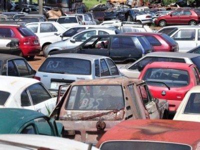 Veículos estão recolhidos em agências de trânsito do Estado (Foto/Arquivo)