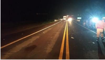 A colisão registrada na BR-060 ocorreu a cerca de 10 quilômetros do perímetro urbano da Capital, sentido Sidrolândia