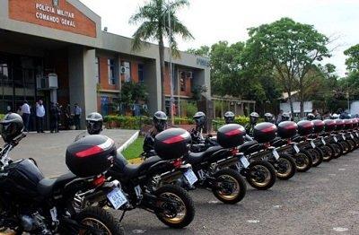 Governo entrega 20 motos BMW para a PM e Bombeiros (Foto: Chico Ribeiro)